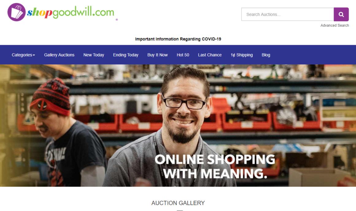 I Love ShopGoodWill.com
